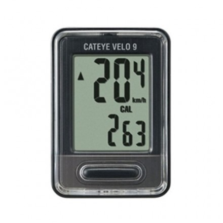 Cateye Velo 9 Black