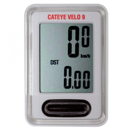 Cateye Velo 9 White