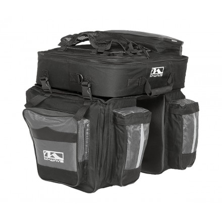 KIT 3 BOLSAS M-WAVE TRAVELLER CICLOTURISMO